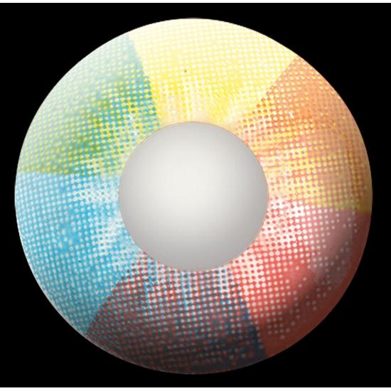 Kleurlenzen Bestellen.Regenboog Uv Kleurlenzen 19 95 Alleen In De Bandana