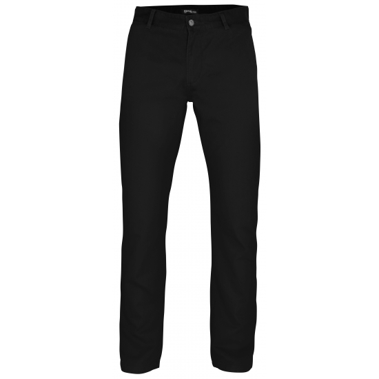 b53adf24bda Zwarte katoenen lange broek heren (33.95) alleen in de Bandana ...